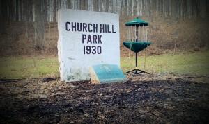 Churchill Park DGC FUNdraiser II - part deux graphic