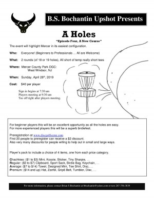 """A Holes """"Episode Four, A New Course"""" graphic"""
