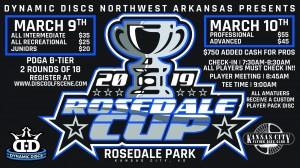 Dynamic Discs Presents: 2019 Rosedale Cup (INT,REC,JUNIORS) graphic