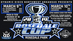 Dynamic Discs Presents: 2019 Rosedale Cup (ADV,PRO) graphic