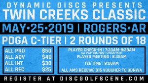 Dynamic Discs Presents: 2nd Annual Twin Creek Classic graphic