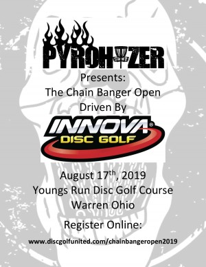 Pyrohyzer Presents The Chain Bangers Open Driven by INNOVA graphic