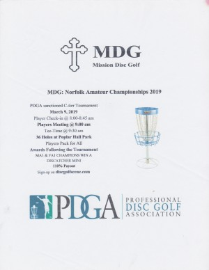 MDG: Norfolk Amateur Championships 2019 graphic