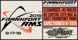 Prodigy Discs Presents Frankfort Amateurs Championship graphic
