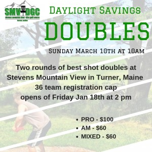 Daylight Savings Doubles 4 graphic