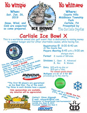 Carlisle Ice Bowl X graphic