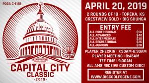 Dynamic Discs Presents: 2019 Capital City Classic graphic