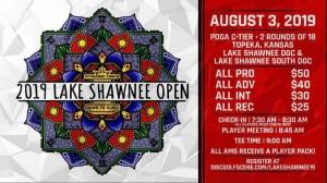 Dynamic Discs Presents: 2019 Lake Shawnee Open graphic