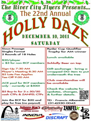 The 22nd Annual Holly Daze graphic
