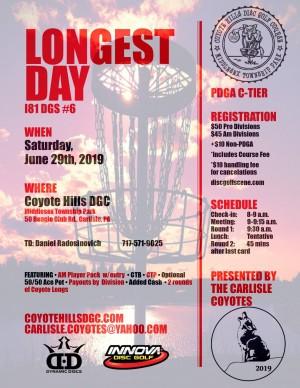 Longest Day - I81 DGS #6 graphic