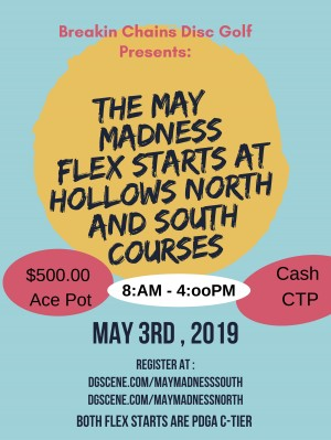 May Madness Flex at the Hollows South graphic