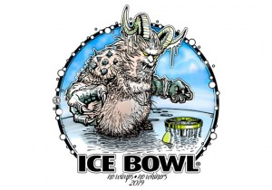 Huntington's 22nd Ice Bowl graphic