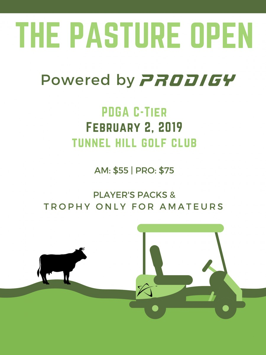 The Pasture Open Powered by Prodigy (2019, Prodigy Disc) · Disc Golf