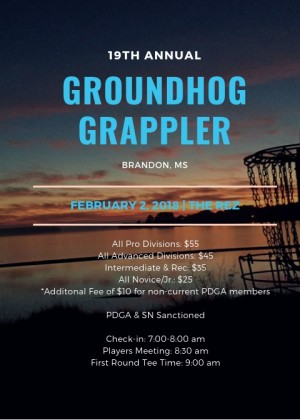 19th Annual Groundhog Grappler graphic