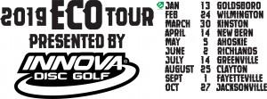Innova Discs Presents The 2019 ECO Tour ( GOLDSBORO ) graphic