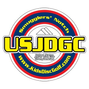 2019 United States Junior Disc Golf Championships graphic