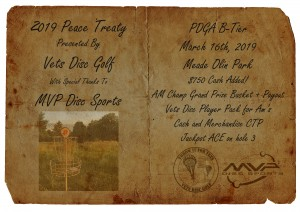 The Peace Treaty - Presented by Vets Disc Golf graphic