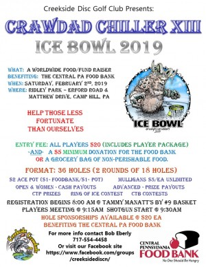 Crawdad Chiller XIII - Ice Bowl 2019 graphic