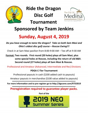 Ride the Dragon Sponsored by Team Jenkins graphic