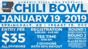 Dynamic Discs NWA Presents: The Chili Bowl graphic