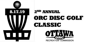 2nd Annual ORC Disc Golf Classic graphic