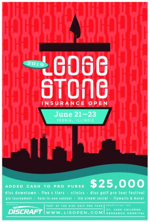 Discraft Ledgestone Insurance Open - DGPT graphic
