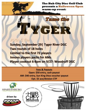 Tame the Tyger graphic