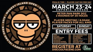2019 Dynamic Discs Monkey Island Open (Advanced Divisions, Rec, and Juniors) graphic