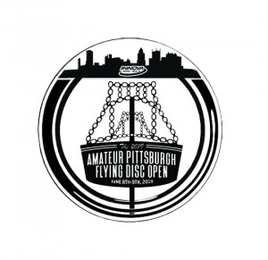 The 2019 Amateur Pittsburgh Flying Disc Open - Driven by INNOVA - Sponsored by Adidas Outdoor graphic