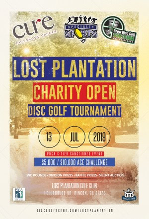 Lost Plantation Charity Open (GDG $5K/$10K event) graphic