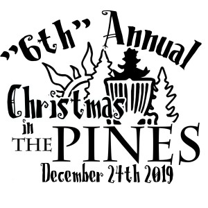 """The """"6th"""" Annual Christmas in The Pines graphic"""