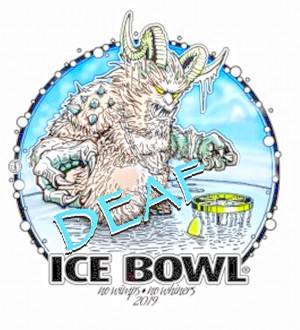 15th Deaf Ice Bowl graphic