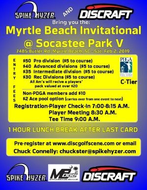 Spike Hyzer's: Myrtle Beach Invitational V graphic
