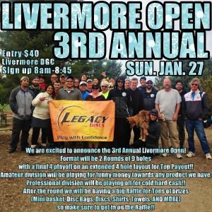 3rd Annual Livermore Open graphic
