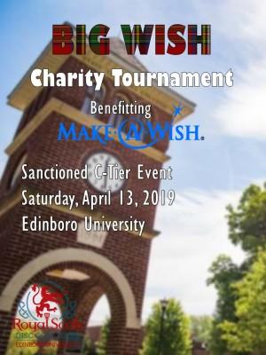 Big Wish Charity Tournament graphic