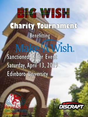 Big Wish Charity Tournament graphic