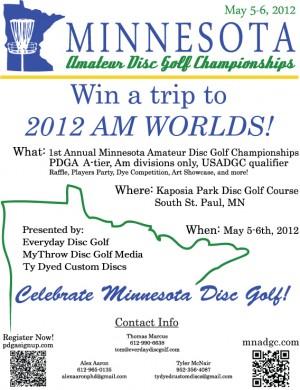 Minnesota Amateur Disc Golf Championships graphic