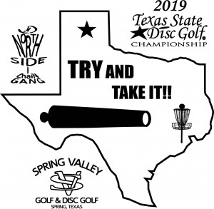 2019 Texas State Disc Golf Championships Presented by Discraft graphic