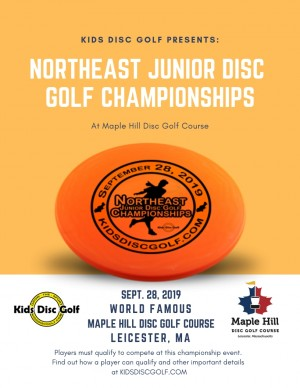 Northeast Junior Disc Golf Championships graphic