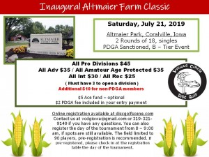 Inaugural Altmaier Farm Classic graphic