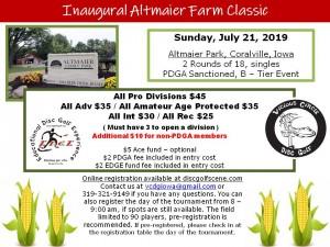 Inaugural Altmaier Farm Classic graphic