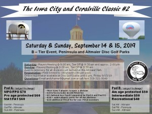 The Iowa City and Coralville Classic #2 graphic