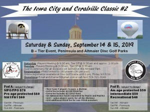 The Iowa City and Coralville Classic #2 graphic