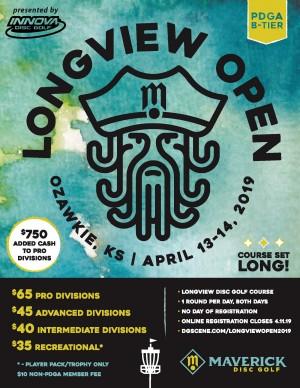 Maverick DG: Longview Open V presented by INNOVA graphic
