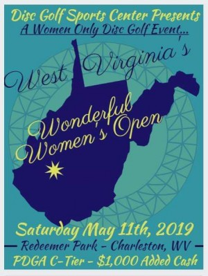 West Virginia's Wonderful Womens Open graphic