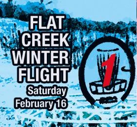 Flat Creek Winter Flight graphic