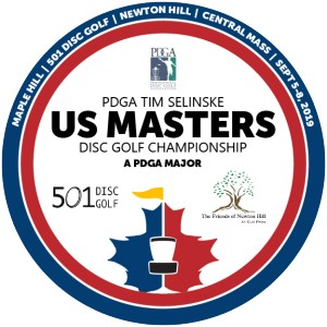 PDGA Tim Selinske US Masters Disc Golf Championship graphic