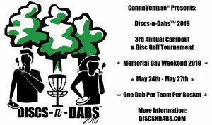 Discs-n-Dabs™ 2019 graphic