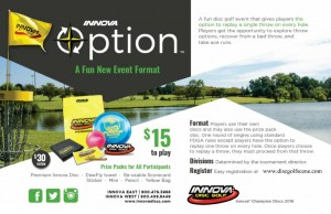 Innova Option Fundraiser for TFC graphic
