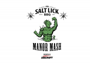 Manor Mash presented by Discraft graphic